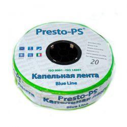 Лента Presto-PS щелевая Blue Line | 20 см  | 2,4 л/ч | 500 м