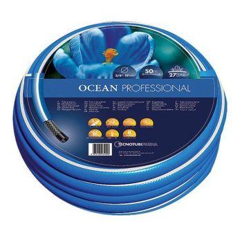 """Шланг садовый Tecnotubi Ocean для полива Ø 5/8""""- 50м"""