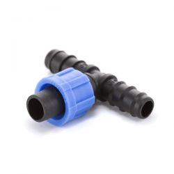 Тройник ёршик Presto-PS для капельной ленты и трубки 16 мм (ВТ-021716)