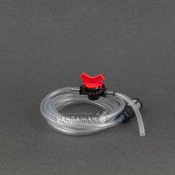 """Шланг для инжектора вентури 3/4"""" с краном и фильтром-сеточкой"""